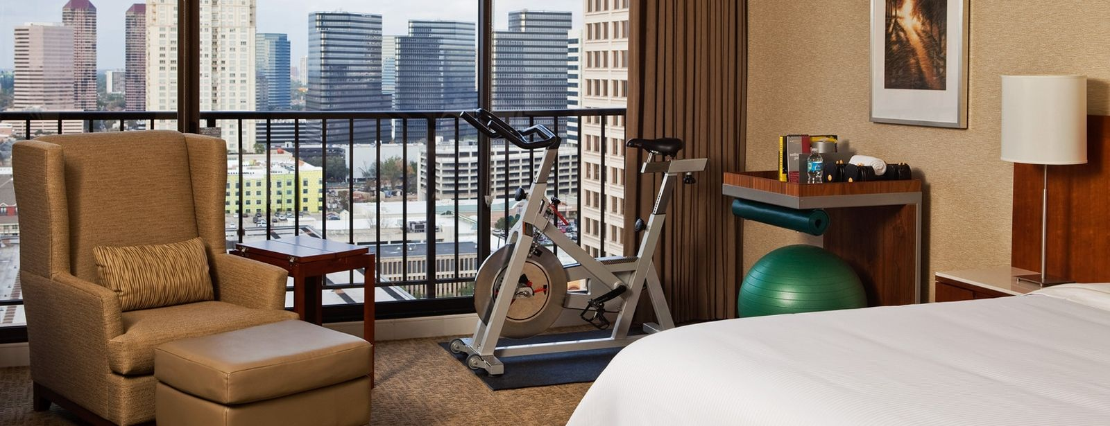 Fitness rooms in Houston - The Westin Oaks Houston at the Galleria